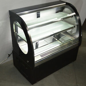 Refrigerated Cake Display Cabinet Commercial Countertop Bakery Showcase New Usa
