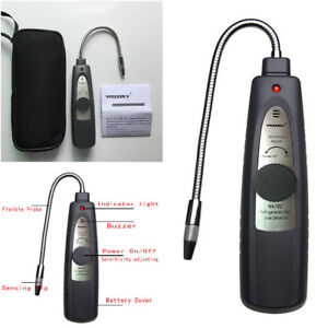 Automotive Refrigerant Halogen Cfc Hfc Air Conditioning Leak Detector With Probe