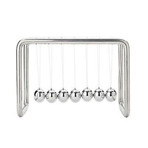 7 Balls Newtons Cradle Stainless Steel Strings upgraded On Oct 2017