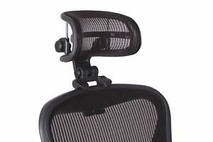 Engineered Now H3 Headrest Ergonomic Add on For Herman Miller Aeron Chair New