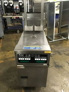 Pitco Sg14 js Automatic Lift Natural Gas Deep Fryer Works Great