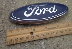 Ford Fusion Trunk Emblem Oval Badge Decal Logo 5 5 Freestyle Oem Factory Stock