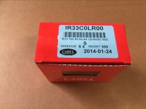 New In Box Carel Controller Ir33c0lr00 Refrigeration Ir33 Digital Temperature