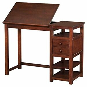 Drafting Tables And Craft Counter Height Desk Espresso