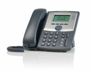 Cisco 3 Line Business Class Ip Phone Handset Telephone Home Office Supplies Tool