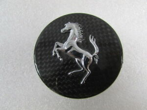 Ferrari 458 Italia Carbon Fiber Wheel Center Cap Used P N 281089