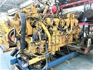 1996 Cat 3512 Diesel Engine Take Out 1380 Hp Complete