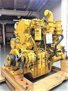 Cat C18 Diesel Engine Long Block 0 Miles Six Month Warranty remanufactured