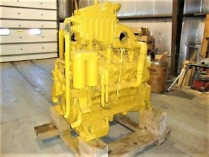 Cat 3408e Diesel Engine 450 Hp Arr 143 8336 Dyno Tested With New Bearings