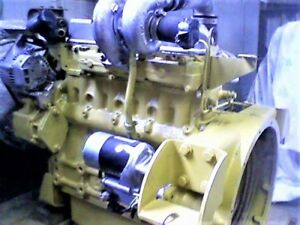 Cat 3034 Diesel Engine 0 Miles remanufactured