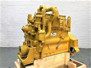 Cat 3204t Diesel Engine 110hp 0miles One Year Parts Warranty remanufactured