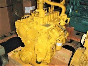 Cat 3304di Diesel Engine 150hp 0miles 1 Year Parts Warranty remanufactured