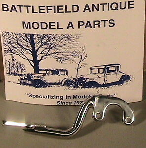 1928 1937 Model A Ford Pickup Polished Stainless Steel Taillite Brackets 1 Pair