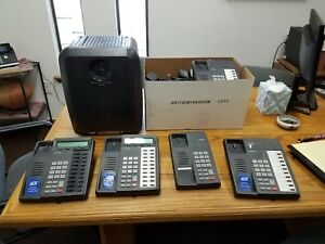Toshiba Strata Ctx 100 Phone System With Multiple Accessories