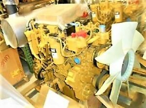 Cat C4 2 Diesel Engine 0 Miles 125 Hp Arr 272 4812 One Year Warranty