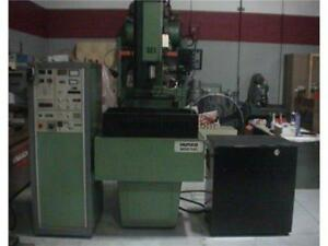 1987 Hurco 900 nc Sinker Edm Hurco 60 10 Cnc Control All Manuals Made In England