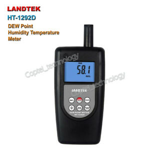 Landtek Ht 1292d Humidity Temperature Dew point Meter Wet bulb Measurement