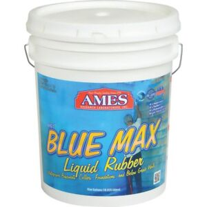 Ames 5 gallon Blue Max Liquid Rubber Membrane Waterproofing Coating New