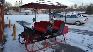 Antique Horse Drawn Sleigh 1880 S Russian Style Price Dropped To 2 500
