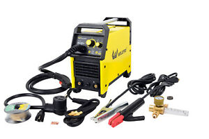 Mig155gsv 155 Amp Inverter Mig stick Welder With Dual Voltage bonus Regulator
