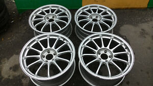 Japan Forged Wheels Tanabe Ssr Type F 19 8 9 5jj 5 114 3 Set Of 4