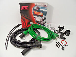 Defa 460785 Mini Plug Green Warm Up Heater Connection Cable Set kit 1 5m 2 5m