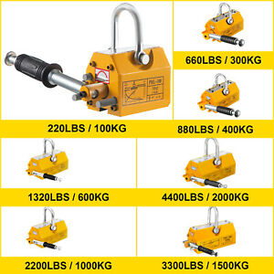 100 300 600 1000kg Steel Magnet Magnetic Lifter Titanium Alloys Pull Lifting