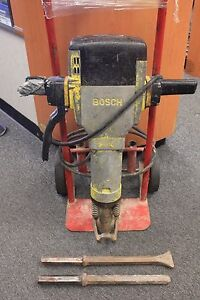 Bosch Corded Jack Hammer W 2 Bits Local Pick Up Please Read