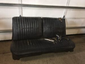 1968 1969 Dodge Charger Coronet Plymouth Road Runner Gtx Bench Seat