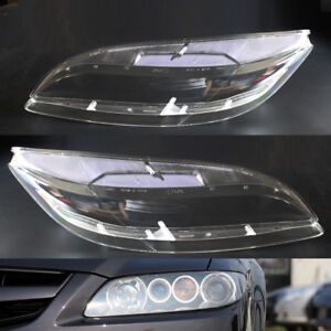 2x Car Headlight Clear Lens Cover Shell Fit For Mazda 6 2003 2008 Portable