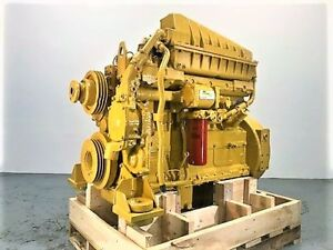 Cat 3306 Dita Diesel Engine 270hp Approx 100hrs On Reman Tested Ready To Go