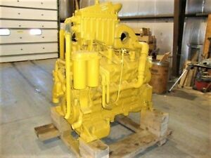 Cat 3408e Diesel Engine Take Out