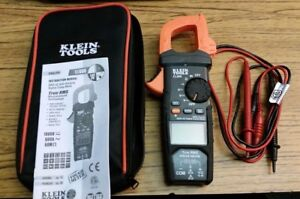 Klein Tools Cl600 Digital Clamp Meter True Rms Tough Meter