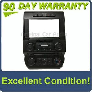 15 17 Ford F150 Oem 8 Touch Screen Radio Control Climate Control Bezel Only