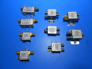 Mini circuits Zx76 31r5 pp s Step Atten Zx60 3018g s Amp Rlc S 7886 Lot Of 8