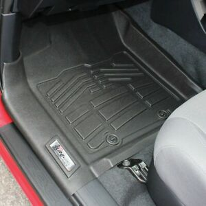 Wade Auto Floor Mats Front New Black For Toyota Tacoma 2016 2017 72 110079