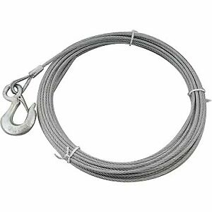 Superwinch 1514a Winch Cable Galvanized Steel 7 32 60 Ft Superwinch S4000 Each