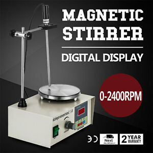 85 2 Magnetic Stirrer With Heating Plate Digital 250w 110v Thermostatic Good