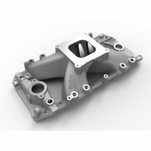 Holley 300 563 Intake Manifold For 1994 98 Chevy B7 68 74 Chevy C10 Pickup Front