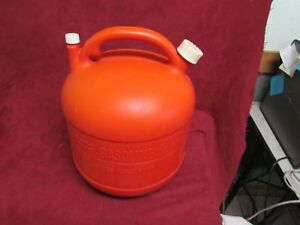 Eagle 5 Gallon Round Plastic Gas Can