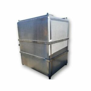 Used 1 260 Gallon Stainless Steel Tank