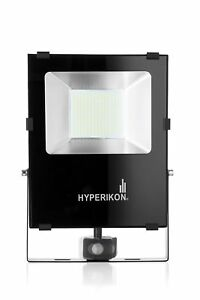 Hyperikon Led Motion Sensor Flood Light 100w 400w Equivalent 10000 Lumens