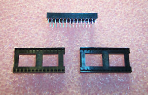 Qty 28 28 Pin Single Wipe Dip Ic Sockets Icu 286 s7 t Robinson Nugent 2 Tubes