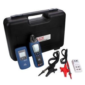 Cem La 1012 General Cable Fault Locator Tester Meter Transmitter With Receiver