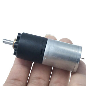 Micro 20mm Full Metal Gearbox Gear Motor Dc 3v 6v 33rpm Slow Speed Robot Car