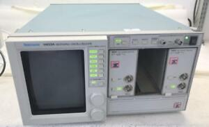 Tektronix 11403a Digitizing Oscilloscope W 2 11a72 Two Channel Amplifier