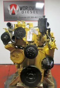 Cat 3406b Diesel Engine 425hp Approx 417k Miles On Overhaul