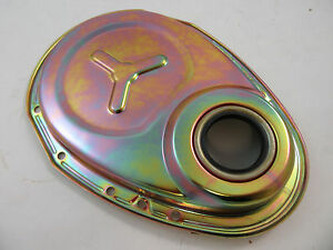Sb Chevy Small Block Zinc Reinforced Steel Timing Cover 283 327 350 400 1959 95