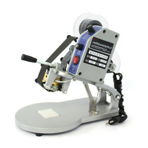 Dy 8 Ribbon Manual Hot Foil Stamping Machine Date Coder Printer 220v Thermal