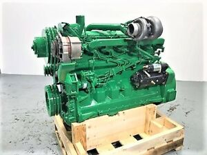 John Deere 6068t Diesel Engine 148 Hp Good Used Engine Tested Ready To Go